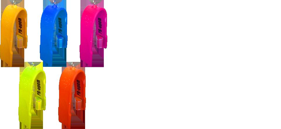 PB-open plastic bag opener つるつるのビニール袋が一発で開く! 商品画像